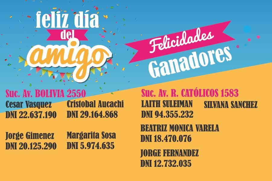 Ganadores Av. Bolivia 2550 y Av. Reyes Católicos 1583